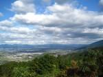 森林公園からの久留米景色