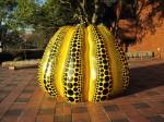 巨大かぼちゃオブジェ
